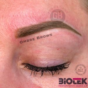 Ombre Brows – 1. behandling