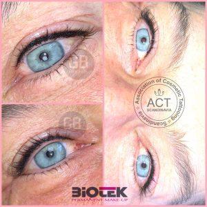 Klassisk Eyeliner inkl. vippefortætner – 1. behandling
